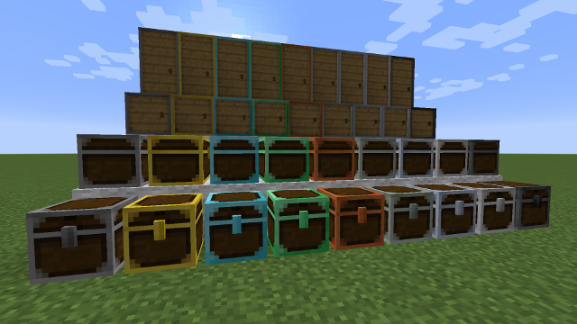 Reinforced Lockers and Chests